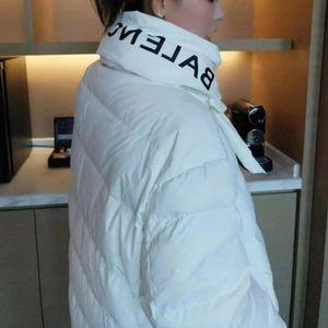 Balenciaga   White puffer down coat